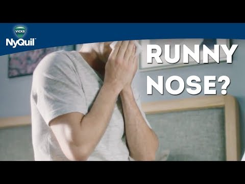 How To Stop a Runny Nose | Vicks