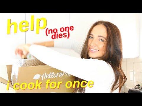healthy dinner idea | hellofresh honest review