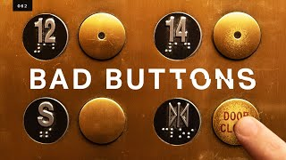 The infuriating truth behind elevator buttons