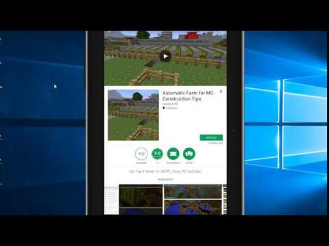 Automatic Farms for Minecraft App - How to Install Samsung Tablet