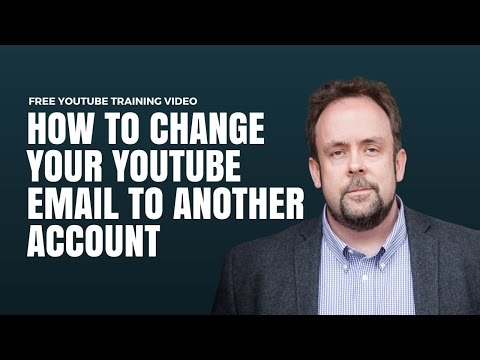 How To Change Youtube Channel  Gmail Id Without Losing Your Content