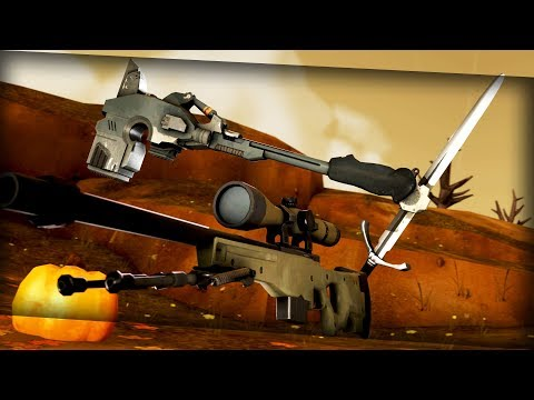 TF2: Crafting RARE Weapons!