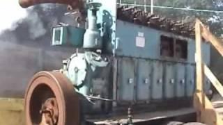 "Anson Engine Museum  Mirrlees  ""U type"" first run 10/6/08"