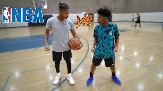 1v1 Basketball vs. Deshae Frost... (If I win he has to apologize to my sister)