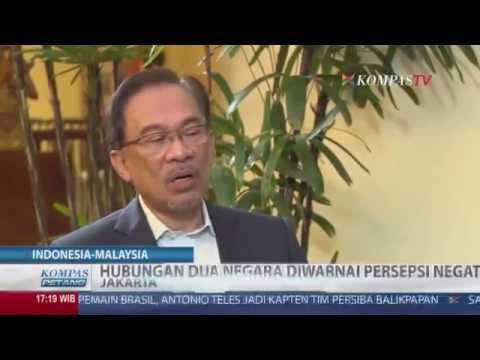 Hubungan Indonesia dan Malaysia Diwarnai Persepsi Negatif
