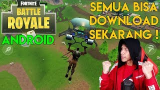 semua bisa download game terpopuler di dunia fortnite android indonesia - fortnite client android shipping arm64 es2
