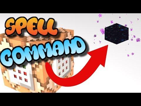 Minecraft Command Block Tutorial - End Spell Bedrock Edition (Xbox One,Mcpe,Windows10)