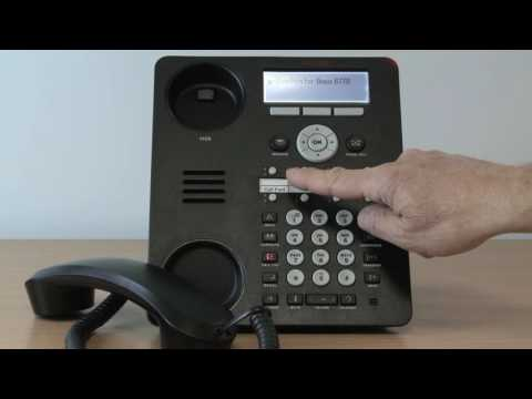 1. Avaya Telephone System - Call Transfer on the 1408