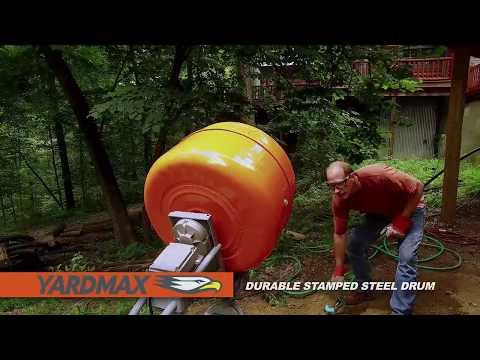 YARDMAX 5 cu ft CONCRETE MIXER
