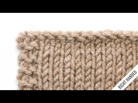The Purl Bind Off :: Knitting Technique #18 :: Right Handed
