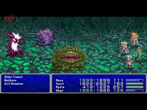 Final Fantasy IV (PSP) - Part 17 - A Trip to the Moon
