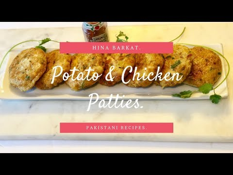 Chicken and Potato Patties