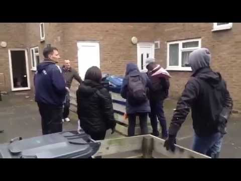 Sweets Way Eviction by High Court Bailiffs (Inhuma