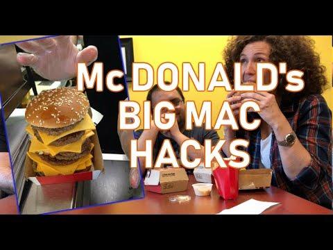 Mc Donald's Big Mac Hacks