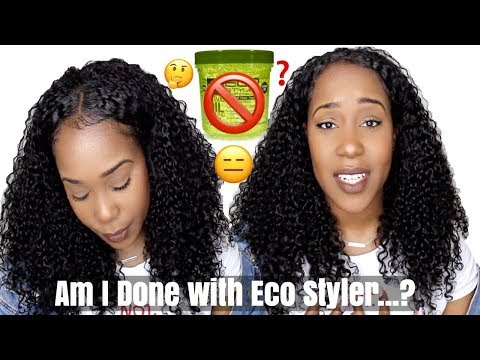 DONE WITH ECO STYLER GEL.....? | *INSERT EYE ROLL* | MY THOUGHTS!