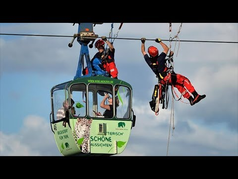 Cable car accident strands up to 100 passengers in Cologne