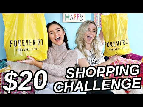 $20 OUTFIT CHALLENGE FT KALISTA ELAINE! | Kenzie Elizabeth