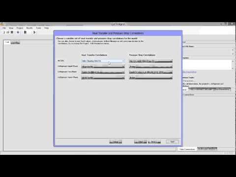 CoilDesigner Wire Fin Heat Exchanger Tutorial