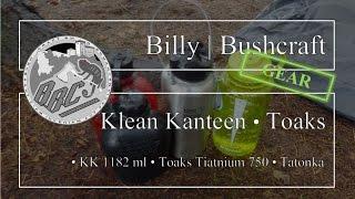 Gear Klean Kanteen 1182 Ml Toaks 750 Ml Mug With Bail Handle Tatonka