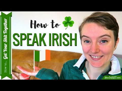 Learn how to Speak Irish for St. Patrick's Day ☘️   HowToGYST