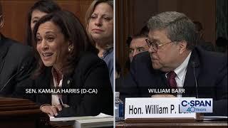 Complete exchange between Sen. Kamala Harris and Attorney General William Barr (C-SPAN)