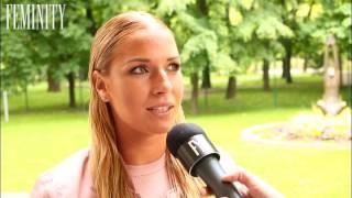 Rozžiarená tenistka Dominika Cibulková si strihla päť-slovný boj