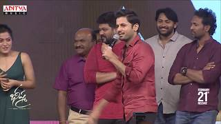Nithiin Making Fun With Rashmika @ Bheeshma Pre Release Event