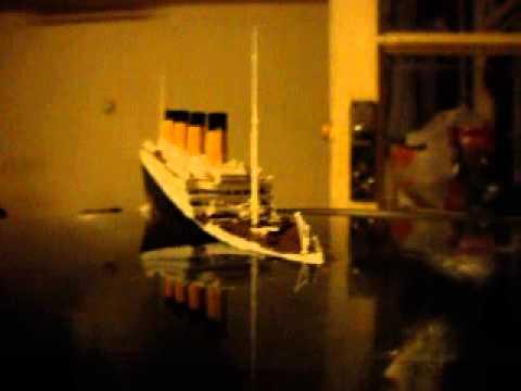 Titanic Sinking in a Bowl (Original)