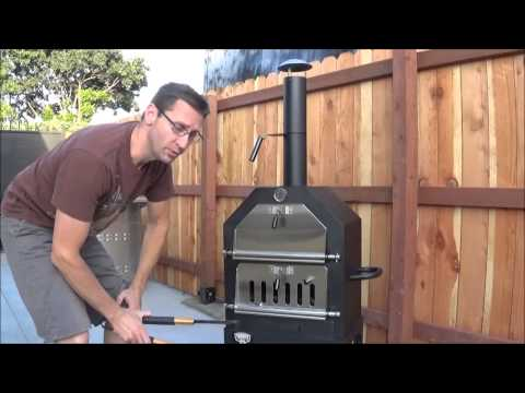 How to Cook Homemade Pizza's in the Troop's BBQ Pizza Oven