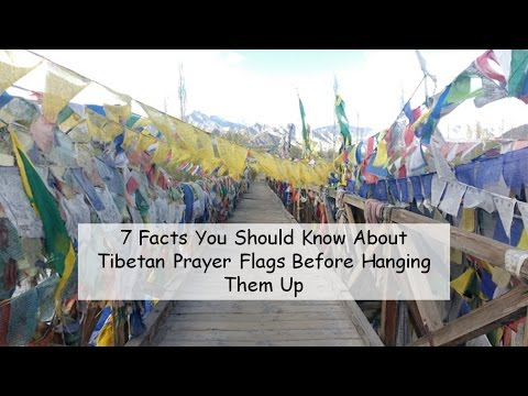 Facts About Tibetan Prayer Flags by Newfangled Girl