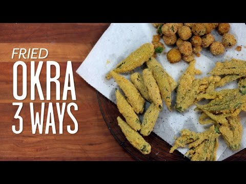 Three Ways To Fry Okra   Southern Living
