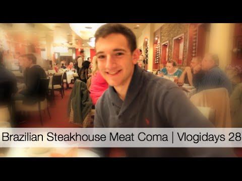 Brazilian Steakhouse Meat Coma   Vlogidays 28