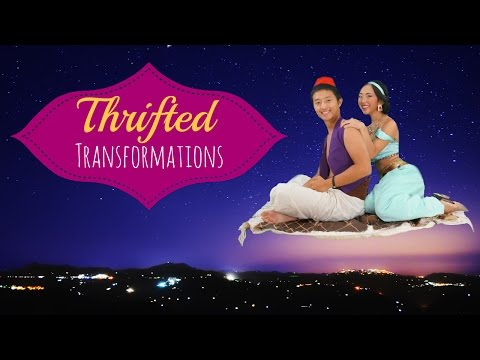 Thrifted Transformations | Ep. 8 (DIY Princess Jasmine & Aladdin Costume)