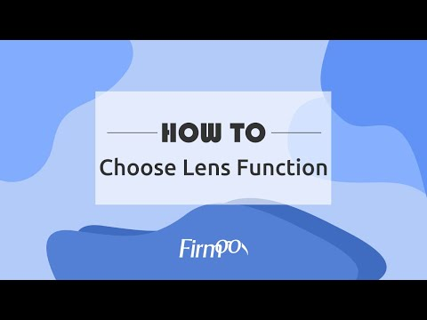 How to choose lens function?  Firmoo Optical