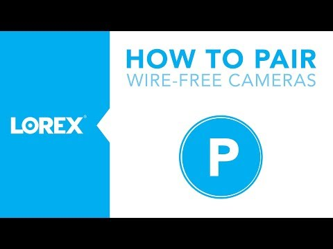 How to Pair Wire-Free Security Cameras with DVR