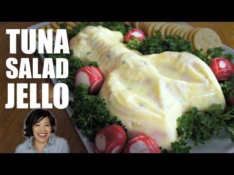 TUNA Salad JELLO in a Lobster Mold | Retro Recipe Test