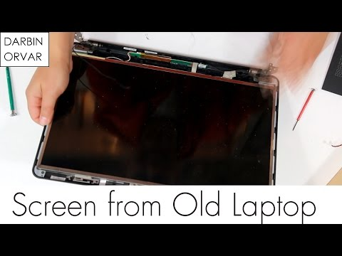 How To Take Apart a Laptop to Get The Screen