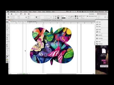 How To Create A Custom Shape In Indesign Using The Ellipse Tool