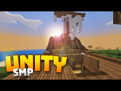 Minecraft Realms! - Unity SMP S2 Ep. 4 - JOLLY ROGER?! CAPTAIN'S ROOM & STEERING DECK DESIGN!