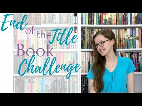 End of the Title Book Challenge