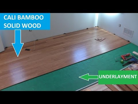 Cali Bamboo Hardwood Flooring - Tips on Cutting and Installation