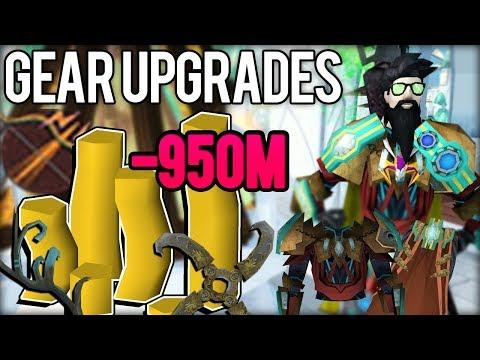 Spent Almost 1B In Upgrades. RIP Cashstack - RuneScape 3