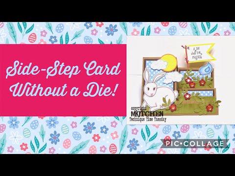 Side Step Folded Card