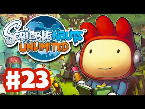 Scribblenauts Unlimited - Gameplay Walkthrough Part 23 - Exclamation Point (PC, Wii U, 3DS)