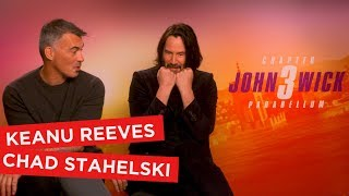Keanu Reeves reveals who he would choose to protect him and talks John Wick & Avengers memes