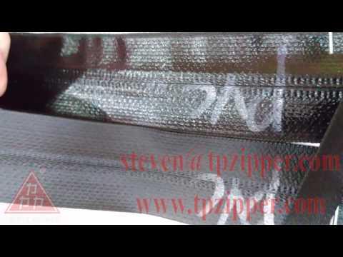 TP TPU COATED or PVC COATED waterproof zipper