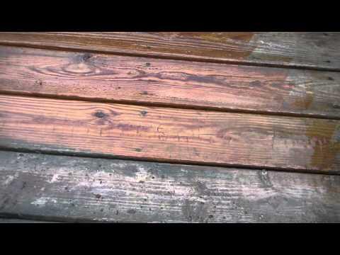 Pressure Cleaning wooden ipe deck - Westchester Power Washing - (914) 788-9274 brick