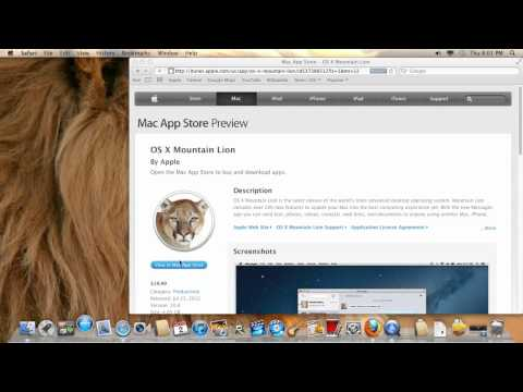 How to buy Mountain Lion Apps