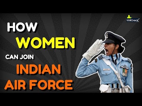 How Girls Can Join Indian Air Force