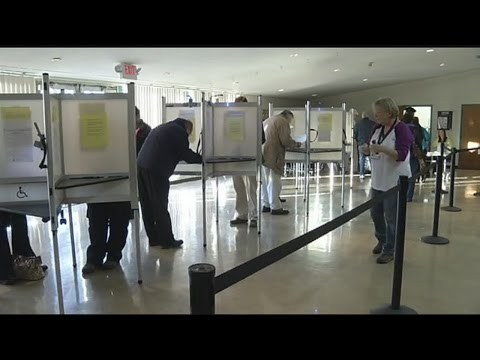 First day of early voting in Massachusetts
